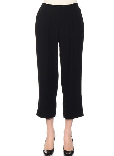 Beymen Studio Beli Lastikli Havuç Pantolon Siyah